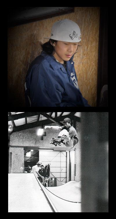 大越 幹央【MIKIO OKOSHI】 スケート